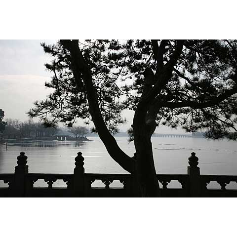 Beijing (China) and its region: The 17 arches bridge of the Summer Palace China photo Paul Maurer