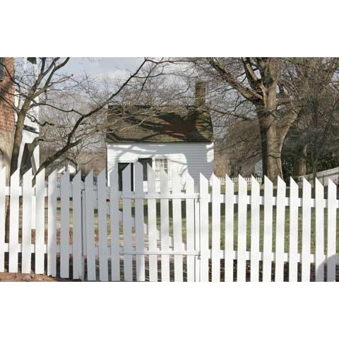 Fence 3 in the Historical Old Salem, Winston Salem, North Carolina, USA, photo Paul Maurer