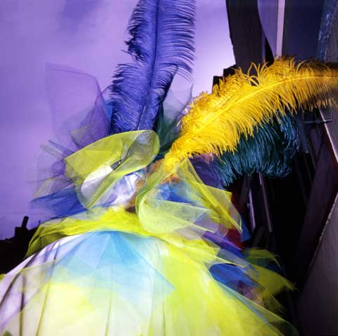 Basler Fasnacht Basel Switzerland Morgestraich with feathers on the hat photo Paul Maurer