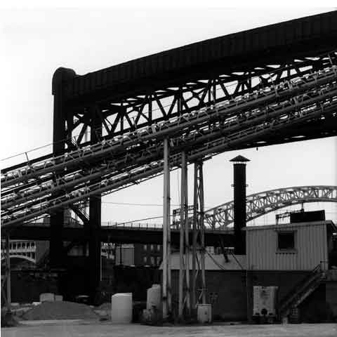 Travel to the States, Cleveland Ohio, the Flats,ancient manufactory of steel, photo Paul Maurer